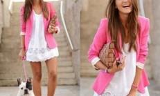 Rengarenk Kıyafetlerle Sokak Modası