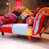 patcwork desenli dekoratif şık koltuk modeli