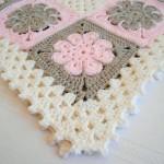 kare motifli battaniye