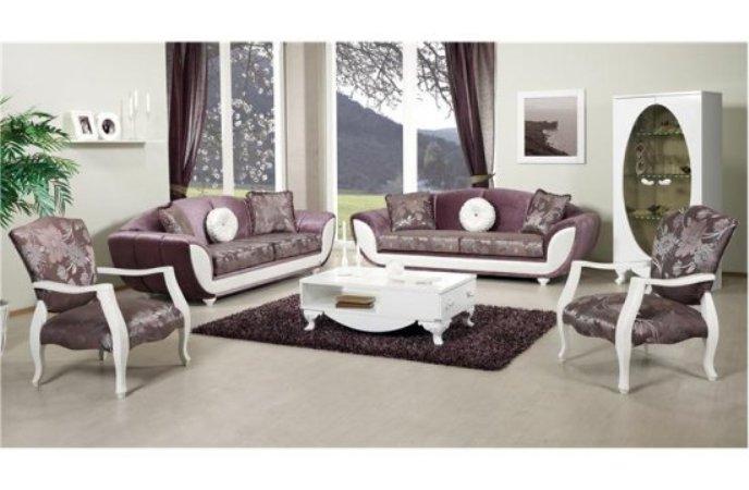 vizon renkli modern lüks salon koltuk takımı