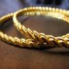 çift burma altın bilezik modeli