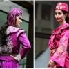 pembe renkli çok şık yöresel kına kıyafetleri