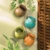 rengarenk askılı dekoratif saksı modelleri