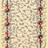 çiçek desenli saray halı modeli