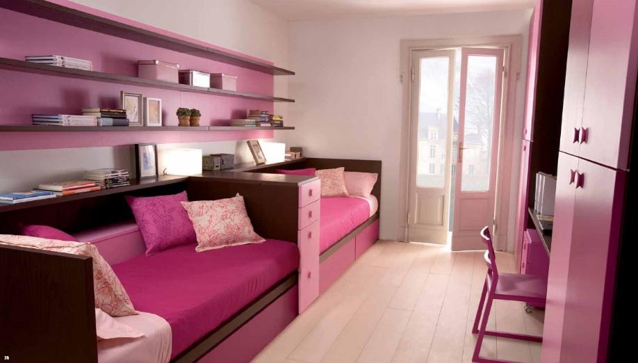 farklı iki kişilik genç odası tasarımı