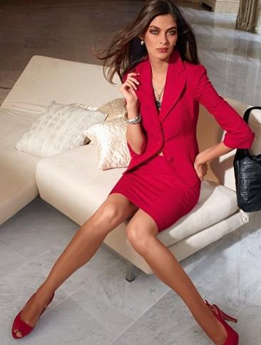2013 kırmızı bayan döpiyes modeli