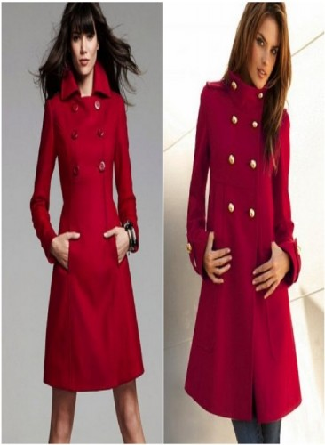 Kırmızı Bordo Kaban Modelleri