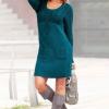 Yeşil 2013 Kışlık Elbise Modeli