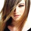 farklı kesim düz saç modeli