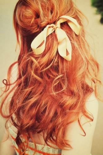 kızıl saç su dalgası modeli