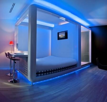 Led ışıklı Ev Dekorasyonu Modeli