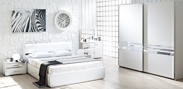 sürgülü dolaplı doğtaş yatak odası takımı