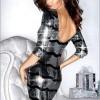 çok şık ışıltılı payetli elbise modeli