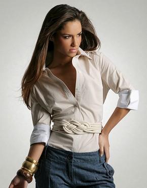 çok hoş bayan gömlek modeli
