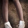 2013 calzedoniafall winter kahverengi kısa çorap