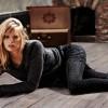 2013 yeni trend siyah puanlı kışlık çorap
