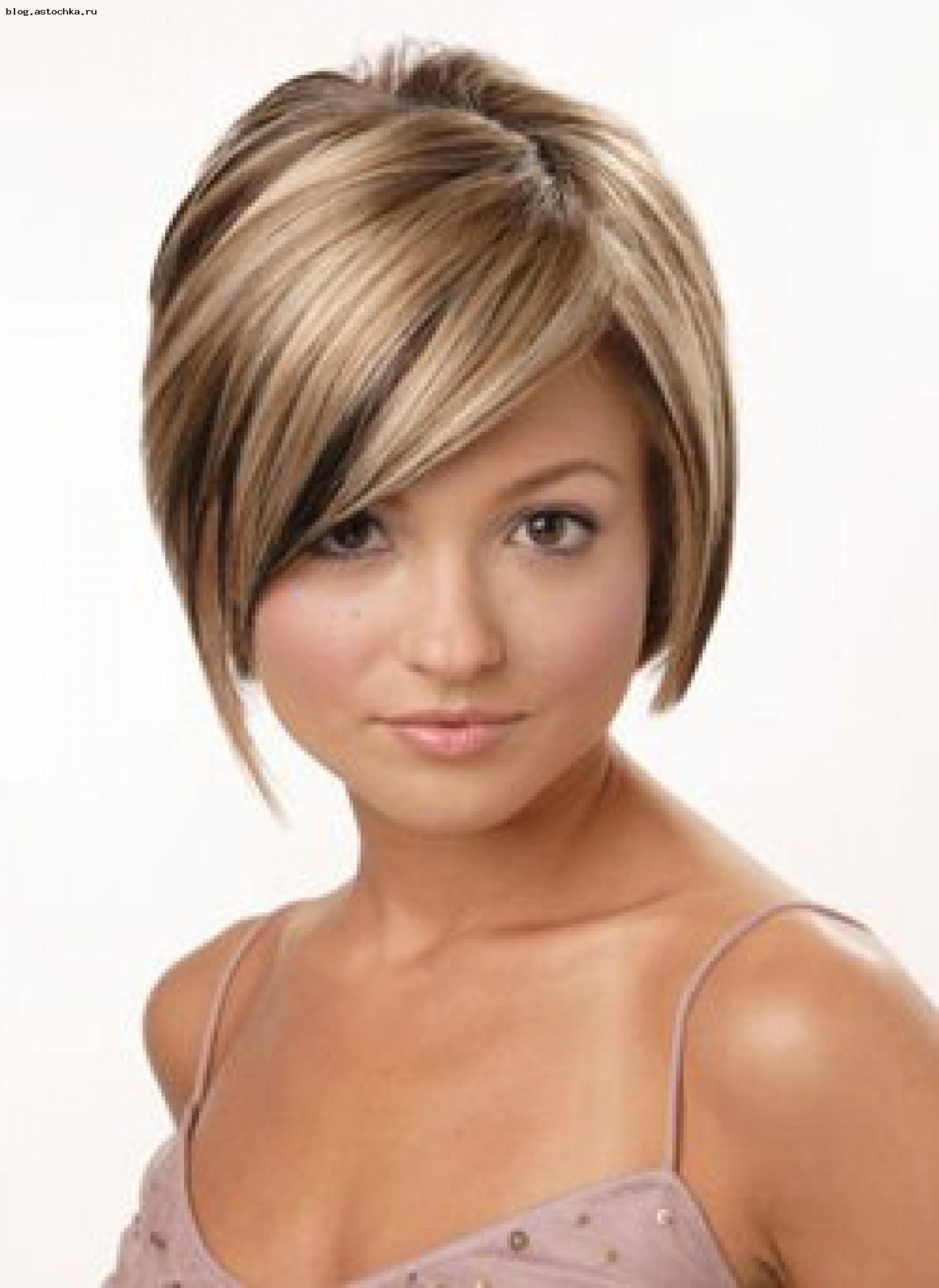 Прически на средние волосы колорирование