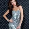 payet ve taş işlemeli abiye elbise modeli