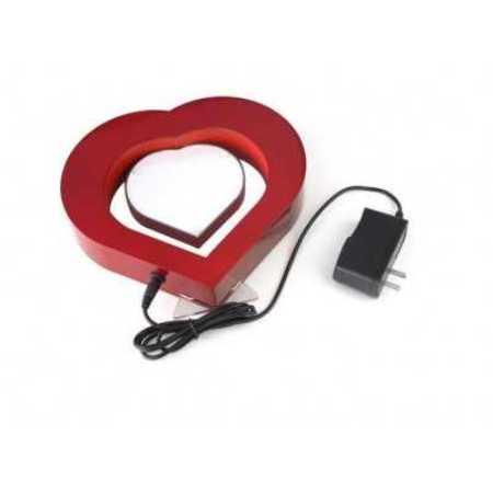 sevgililer günü için manyetik kalpli çerçeve modeli