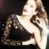 tek omuz güpürlü siyah abiye elbise modeli