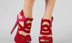 Muhteşem Kırmızı Ayakkabı Modelleri