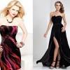çok şık kadife abiye elbise modelleri