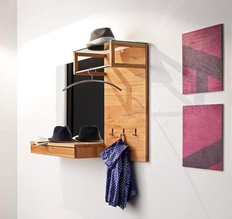 duvara monte edilen mini portmanto modeli