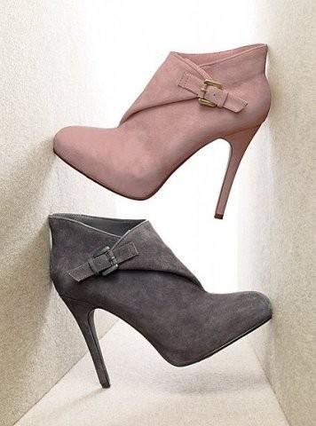 en güzel bayan yarım çizme modelleri