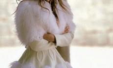 Kış Modası Kürklü Bayan Kaban Modelleri