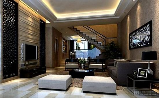 Modern son moda salon dekorasyonu for 30 metrekare salon dekorasyonu
