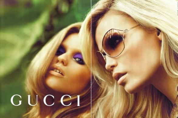 muhteşem gucci bayan gözlük modeli