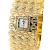 sarı taşlı bayan kol saati