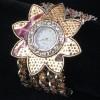 yıldız modelinde şık bayan kol saati