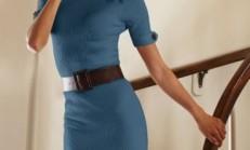 2013 Bayan Triko Elbise Modelleri