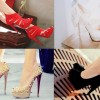 2013 yeni trend farklı model topuklu ayakkabılar