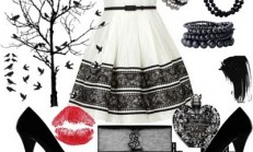 Son Moda Siyah Beyaz Kombinler