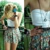 farklı elbise tarz kombini