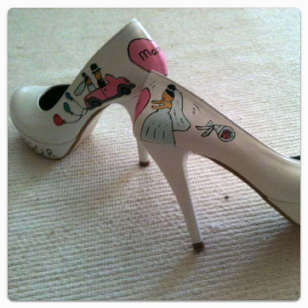 2013 özel tasarım gelin ayakkabısı