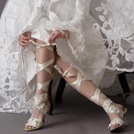 en güzel gelin ayakkabısı modeli