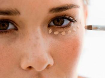 göz altı morlukları için maske yapımı