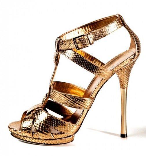 ince topuklu bantlı dore ayakkabı modeli