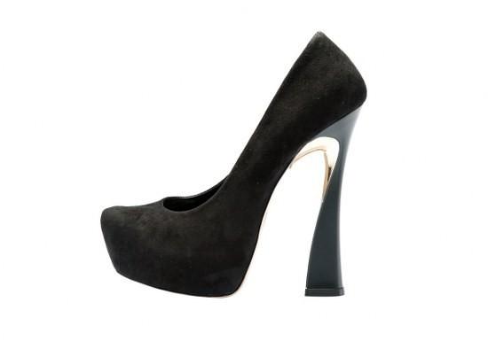 inci platformlu ayakkabı modeli