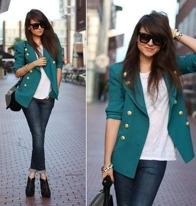 yeşil kısa ceketler