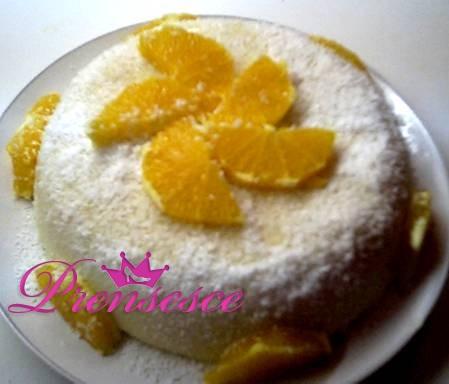 Portakallı Kar Pastası