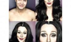 Makyajla Herkese Dönüşebilen Adam