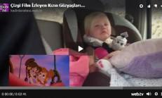 Çizgi Film İzleyen Kızın Gözyaşları