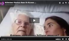 Alzheimer Hastası Anne ile Kızının Duygusal Sohbeti