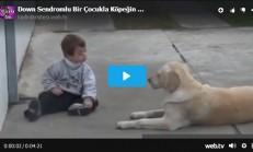 Down Sendromlu Çocukla Köpeğin İlişkisi