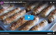 Kıymalı Rulo Börek Tarifi Videolu~~