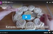 Gül Böreği Tarifi  Videolu